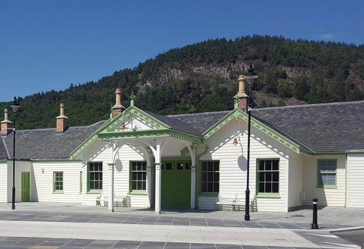 Ballater Station Completion