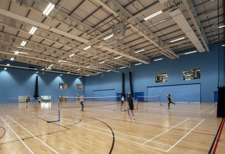 Moray Sports Centre Official Opening