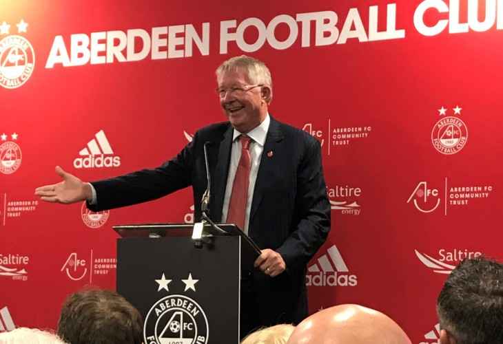 AFC's New Training Facilities Opening Ceremony with Sir Alex Ferguson