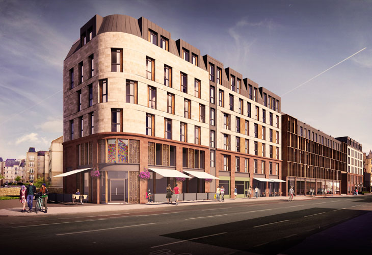 Major Planning Application for Steads Place at Leith Walk, Edinburgh