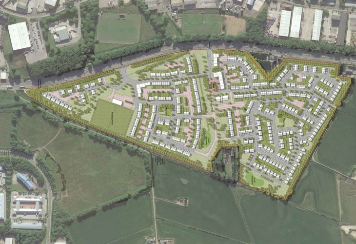 Planning permission lodged for sustainable coastal community