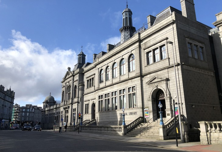 Aberdeen Central Library Roofing Works Complete