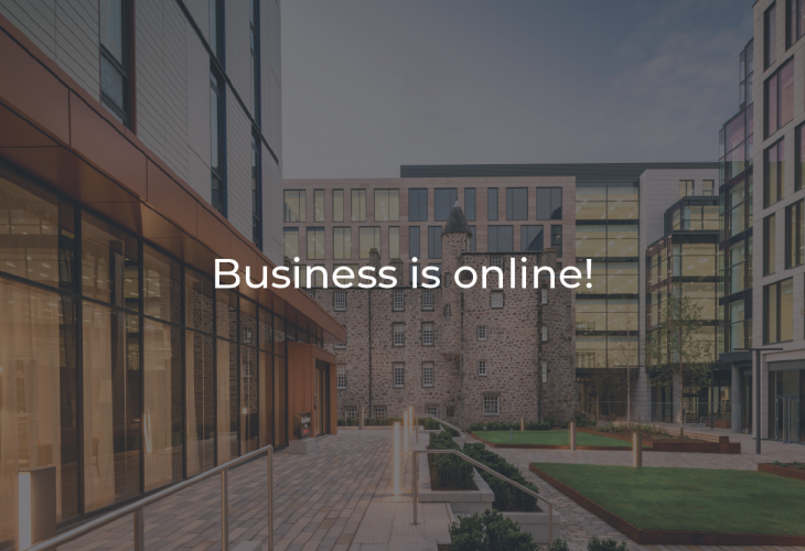 Business is online!