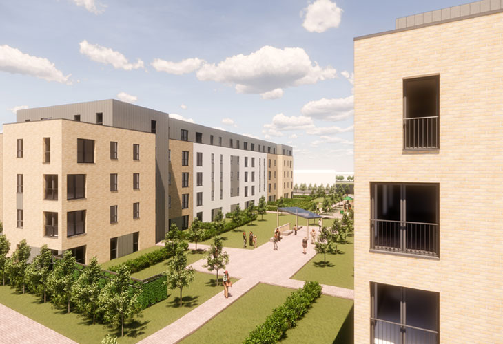 Wellheads Road – Social Housing Backed by Planners