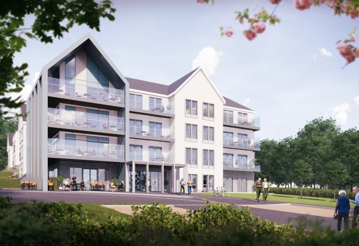 Halliday Fraser Munro lodges plans for 65-bed nursing home in the grounds of Marcliffe Hotel and Spa, Aberdeen
